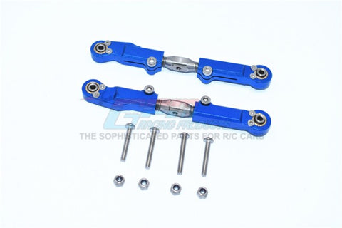 GPM Racing Arrma Limitless / Infraction Blue Aluminum Adjustable Rear Upper Turnbuckle MAF057S-B