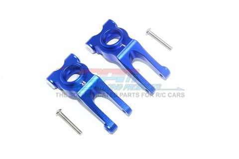 GPM Racing Arrma Granite / Big Rock Blue Aluminum Rear Knuckle Set MAG022-B