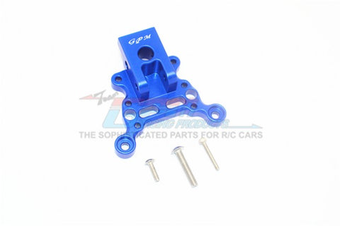 GPM Racing Arrma Limitless / Infraction Blue Aluminum Front Suspension Link Mount MAK015FA-B