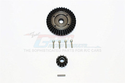 GPM Racing Axial SMT10 RR10 Wraith Yeti Steel Bevel Differential Gear SMJ1200-BK