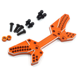 Yeah Racing HPI Sprint 2 Orange Aluminum Rear Shock Tower SPT2-009OR