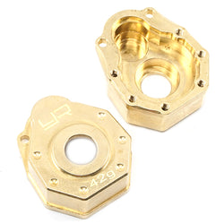 Yeah Racing Traxxas TRX-4 42g Brass Front Or Rear Portal Cover TRX4-019