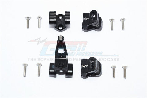 GPM Racing Traxxas TRX-4 Black Aluminium Shock / Link Mount Set TRX4089-BK