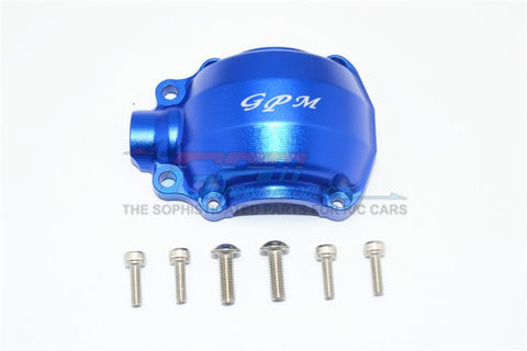 GPM Racing Traxxas UDR Blue Aluminum Front Gear Box Cover UDR012A-B