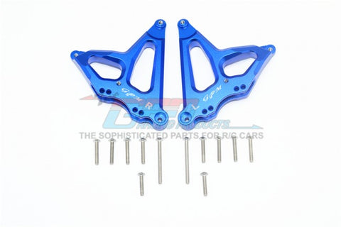 GPM Racing Traxxas UDR Blue Aluminum Rear Damper Mount UDR030-B