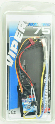 Mtroniks Viper Marine 75 Amp Waterproof Boat ESC Speed Control W/ Fail Safe
