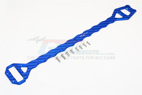 GPM Racing Traxxas XO-1 Blue Aluminum 5mm Thick Top Plate Sub-Chassis XO014-B