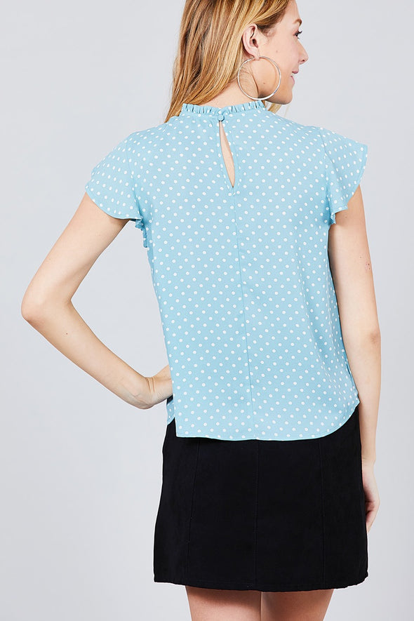 high neck summer top