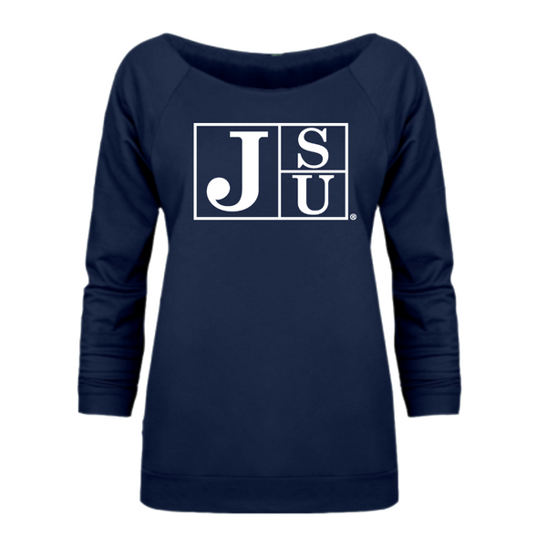 Jackson State Flock Off-Shoulder Shirt