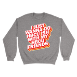HBCU Friends Sweatshirt