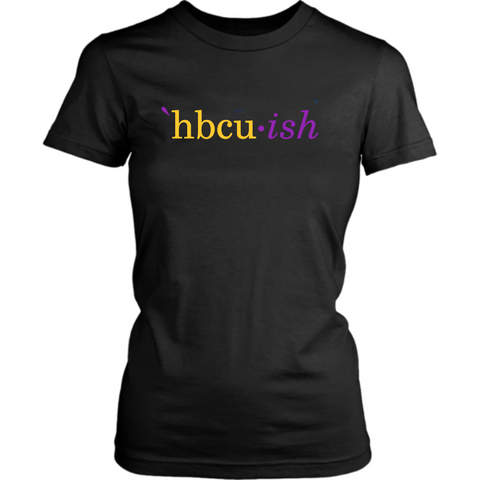 HBCUish Shirt - The Purple and Gold Edition (Womens)