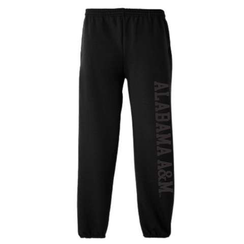 Alabama A&M Black Power Sweatpants