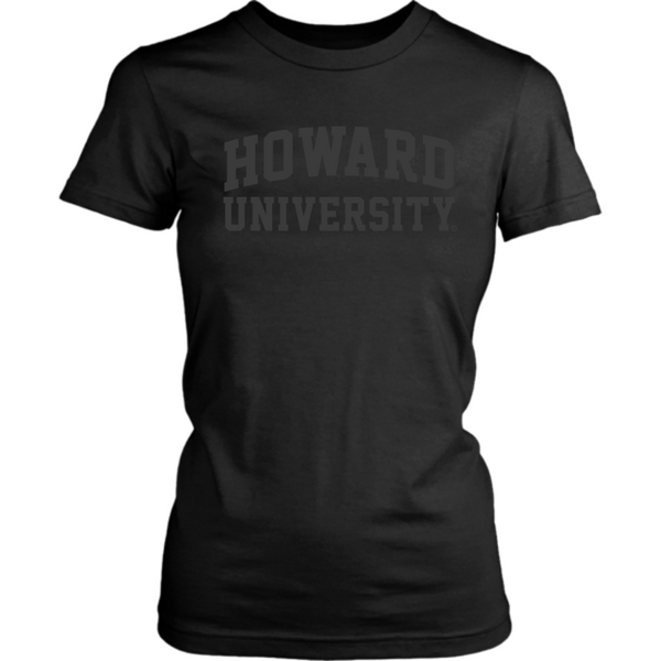 Black Power Howard University T-shirt and Crop (Womens)