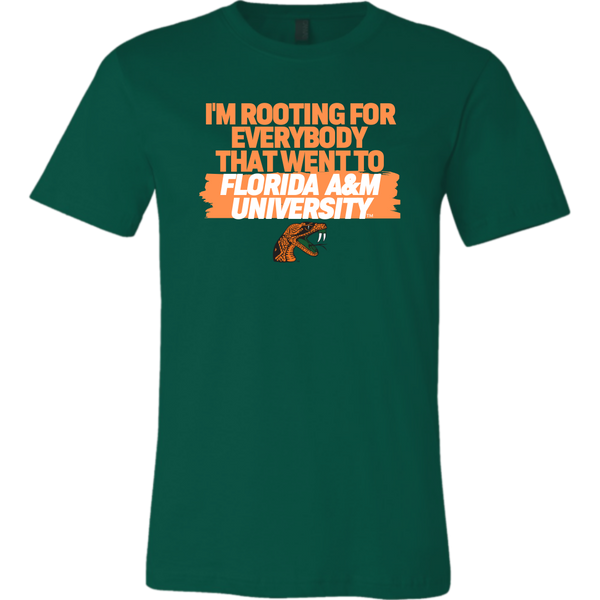 Rooting for Florida A&M Tshirt (Mens)