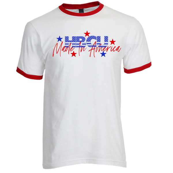 Made In America Unisex Ringer Tshirt