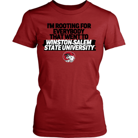 Rooting for Winston-Salem State Shirt Collection (Womens)