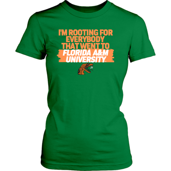 Rooting for Florida A&M Tshirt (Womens)