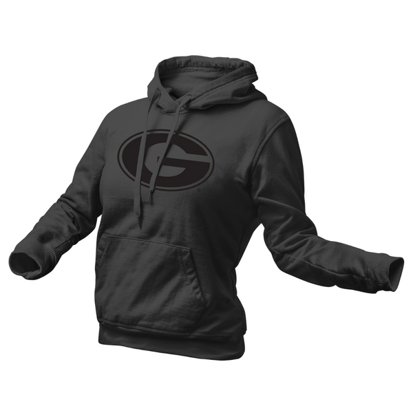 Black Power Grambling Hoodie - Womens