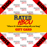 Rated HBCU Gift Card