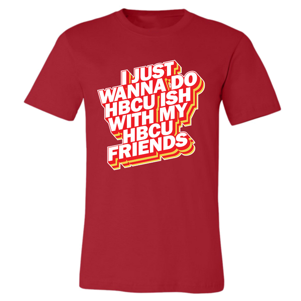 HBCU Friends Tshirt (Mens)