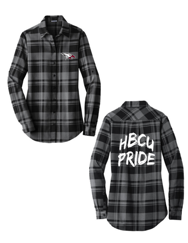 North Carolina Central flannel shirt