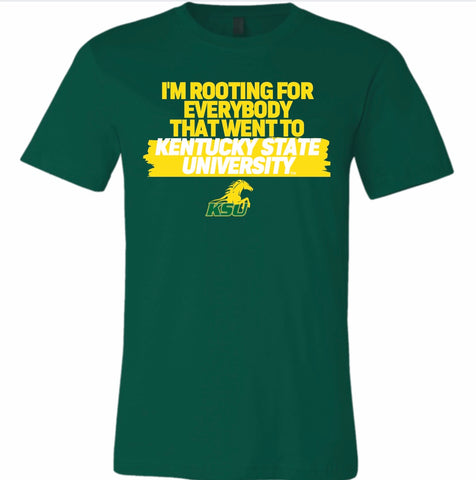 Rooting For Kentucky State Tshirt (Mens)