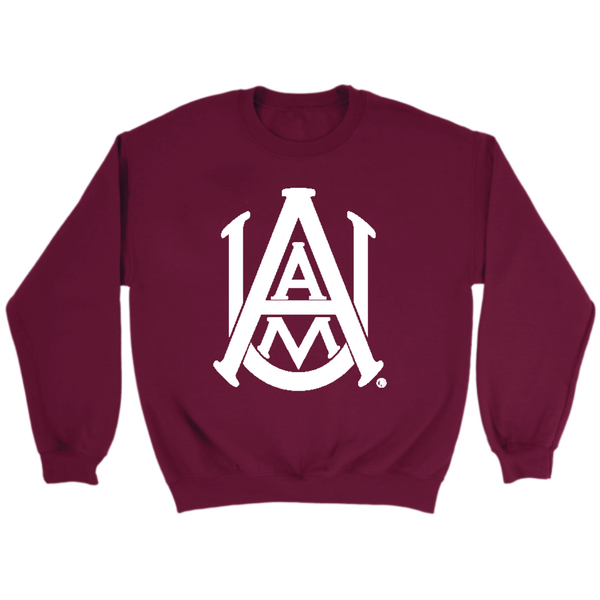 Alabama A&M Flock Sweatshirt-Unisex Crewneck and Hoodie