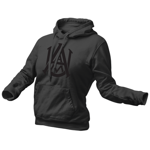 Alabama A&M Black Power Hoodie - Womens