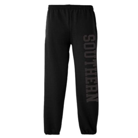 Southern College Black Power Sweatpants