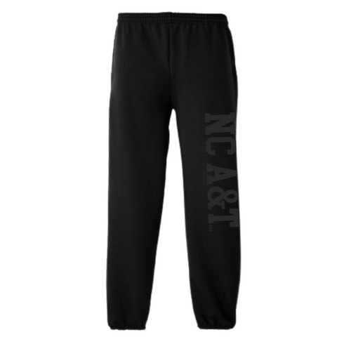 North Carolina A&T Black Power Sweatpants