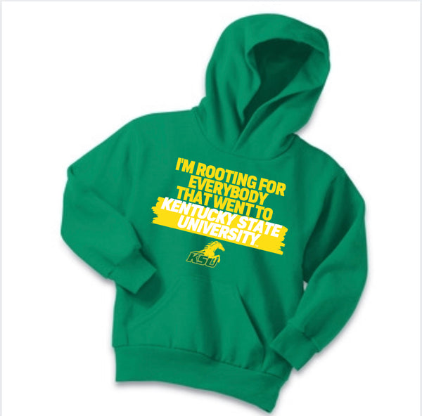 Rooting For Kentucky State Hoodie