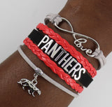 Clark Atlanta University Panthers HBCU bracelet