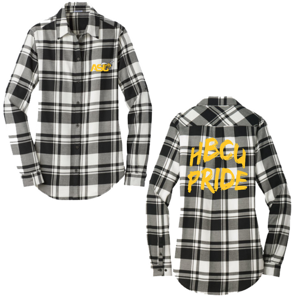 alabama state university flannel shirt