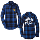 North Carolina A&T Aggies Flannel Shirt (Womens)