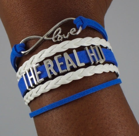 Hampton University The Real HU Pirates HBCU bracelet