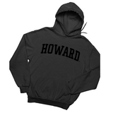 Howard Black Power Sweatshirt - Unisex Crewneck and Hoodie