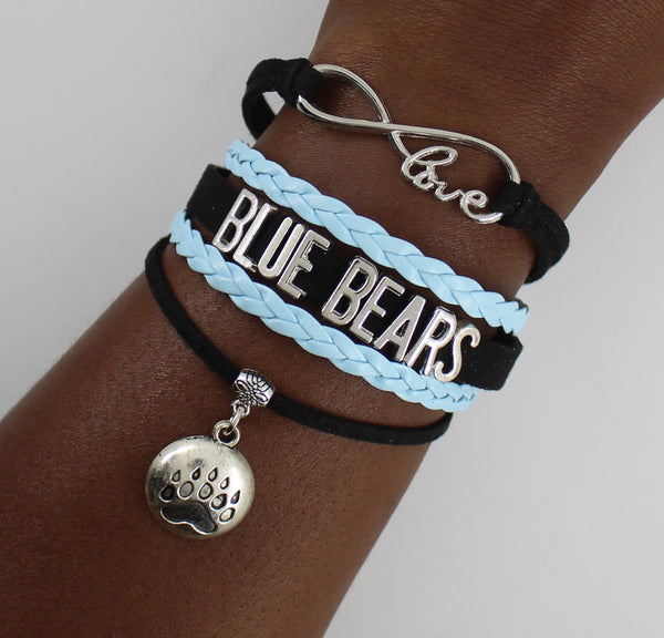 Livingstone College Blue Bears HBCU bracelet
