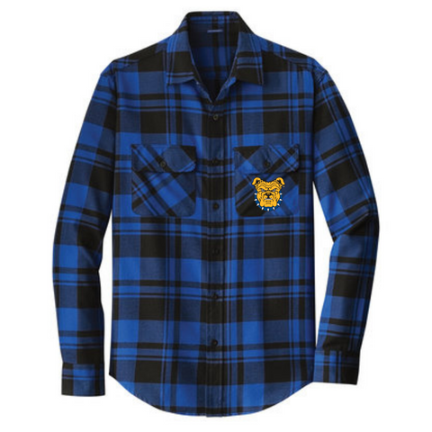 ncat north carolina a&T flannel shirt