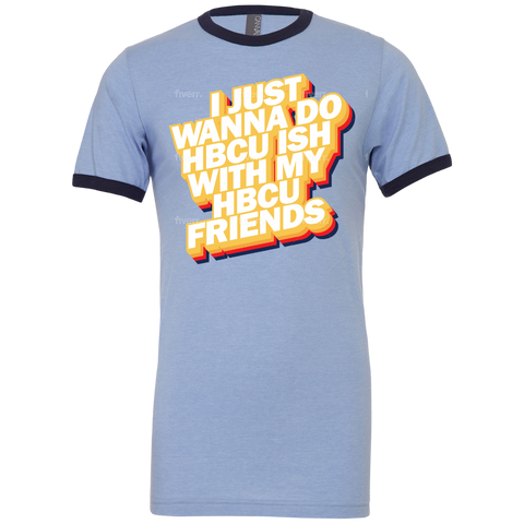 Retro HBCU Friends Tshirt (Unisex)