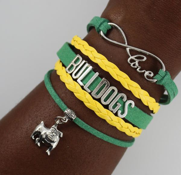 Wilberforce University Bulldogs HBCU bracelet