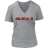 Bethune Cookman BCU Wildcats HBCU gray short sleeve t-shirt