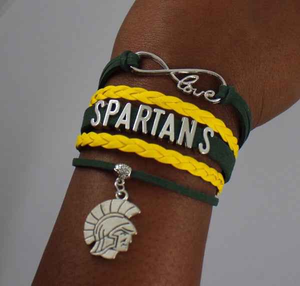 Norfolk State University Spartans HBCU bracelet