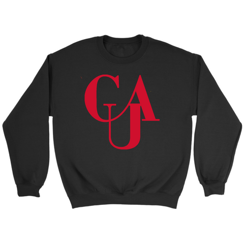Clark Atlanta Flock Sweatshirt-Unisex Crewneck and Hoodie