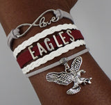 North Carolina Central NCCU Eagles HBCU bracelet