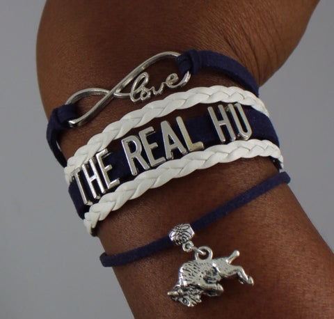 Howard University The Real HU Bison HBCU bracelet