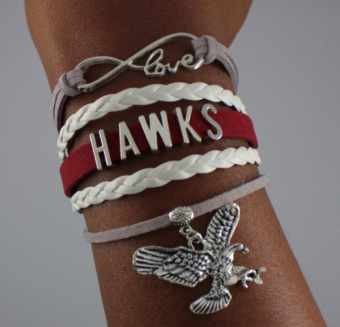 University of Maryland Eastern Shore UMES Hawks HBCU bracelet