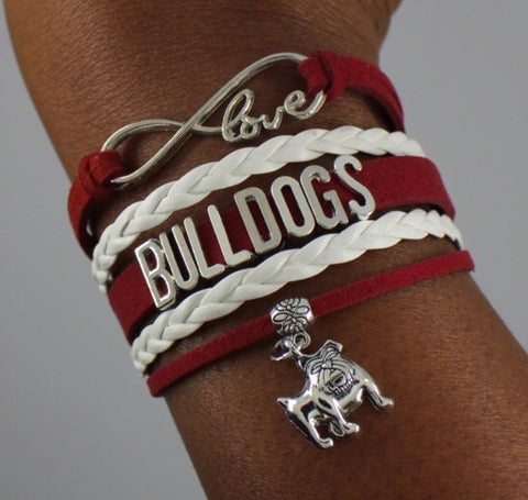 Alabama A&M AAMU Bulldogs HBCU bracelet