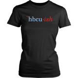 HBCUish Shirt - The Light Blue and Red Editions (Womens)