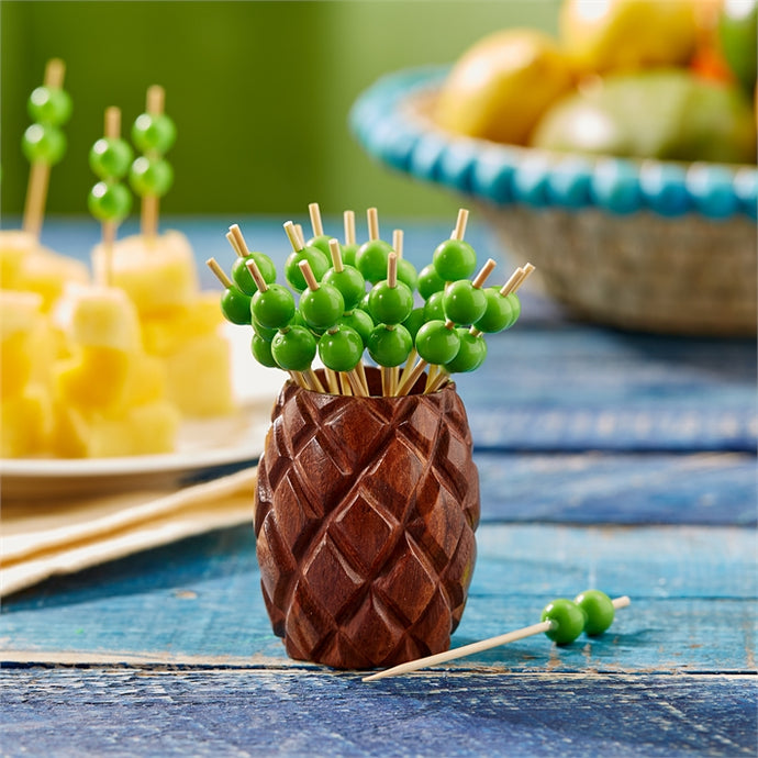 Two's Company Jupina Pineapple Toothpick Holder