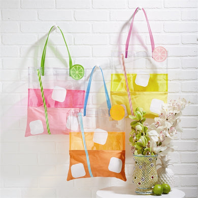 Two's Company Summer Drink Tote Bag